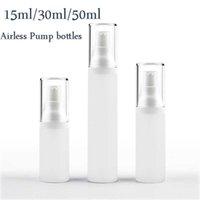 15ML 30ML 50ML PP فراغ جوهر زجاجة البلاستيك الضغط الأساسي الفرعية السائل تعبئة زجاجة مستحلب التجميل التجميل التجميل