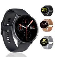 Pulseras Smart Watch IP68 Bandas de acero impermeable a prueba de agua ECG ECG Presión arterial Oxígeno Reloj Muñeca