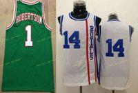 جديد 1 أوسكار روبرتسون جيرسي ريف 30 مواد جديدة 14 أوسكار روبرتسون قميص موحد الأخضر الأبيض تنفس أعلى جودة