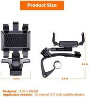 Car Holder with Upgrade 1200 Rotation Dashboard Adjustable Spring Clip Cell Holder,Spida Mount iPhone12 11