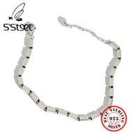 S'steel Braccialetti coreani 925 argento sterling per le donne geometriche minimalist bijoux argento 925 massiccio pour femme bedia gioielli 210525