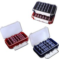 Fishing Accessories Double-Sided Lure Hook Storage Box Waterproof Portable Outdoor Tackle Boxes