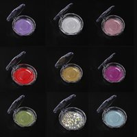 Crystal-lid Plastic Case for Lashes Clear Silver Gold Water green Pink New Popular Packaging for Eyelashes