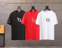 패션 Womens Mens T 셔츠 Unisex 인과 관계 짧은 소매 남자 여성 티셔츠 편지 인쇄 커플 Tshirts 좋은 품질 JK108