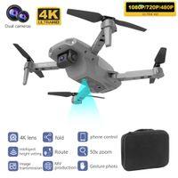 RC Drones Met 4K HD Dual Camera Pro Складной Мини Дрон Quadcopter WiFi FPV Воздушная фотография Дрон Вертолет Игрушки