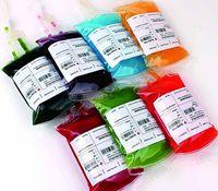350 ml transparente claro material de PVC Material de PVC reutilizable bolsa de bebida de energía de sangre de Halloween Vampire Bols Bouts