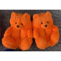 Ayı Terlik 2021 Yeni Gelenler Bulanık Teddy Teddy Toptan Peluş Yeni Stil Terlik Ev Kürk Teddy Bear Terlik Kadınlar Için Peluş KızlarK0uo