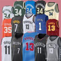 7 كيفن 11 كيري 34 جيانيس ايرفينج antetokounmpo durant 13 هاردن ncaa الرجال كرة السلة الفانيلة Z4
