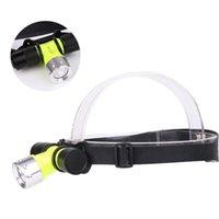 500lm LED 수중 방수 다이빙 헤드 램프 다이브 헤드 라이트 램프 토치 헤드 램프