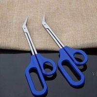 20cm Long Long Long Toe Toe Toe de uñas Tijeras Trimmer para cortador deshabilitado Clipper Pedicure Treint Tool BWD6389