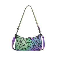 Geometric Retro Handbag 2021 Ladies Bag Woman Designer Totes Wome Bags Luxury Clutch Luminous Baguette Shoulder