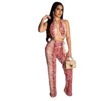 Tute per le donne 2021 Abbigliamento Serpentine Hollow Out Sexy Club Body Suits Rompere Lady One Piece Tuta Pagliaccetti da donna