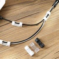 Yeni Kordon Sarıcı Ev Ofis Organizatör Tel Sabitleme Kelepçe Depolama Şarj Kablosu Tutucu Klipler Masası Seti Malzemeleri 520 R2