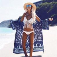 Salida de Playa Mujer 2021 Sexy Beach Cover Up Pareo Costume da bagno Pareo Costume da bagno Costumi da bagno Sukienki Platches Donne Plus Size Signore Donne Donne