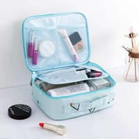 화장품 가방 케이스 게으른 가방 대형 숙녀 방수 저장 세척 워시 여행 휴대용 상자