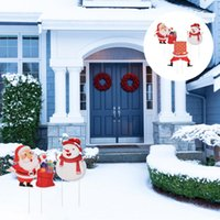 Christmas Decorations Themed Yard Decoration Signs Outdoor Decor Greeting Cards