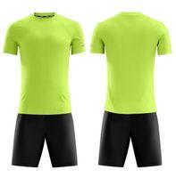 1656778Shion 11 Team Leere Trikots Sets, Trainingsfußball trägt Kurzarm mit Shorts 171325689