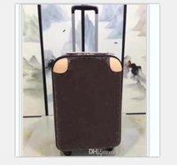 클래식 여행 가방 수하물 럭셔리 남성 여성 트렁크 가방 지갑 막대 상자 스피너 유니버설 휠 더플 가방 # 7892