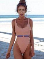 İtalyan Bikini İlkbahar Yaz Yeni Yüksek Moda Çift Harfler Baskı Bayan Mayo Yüksek Kalite Tops
