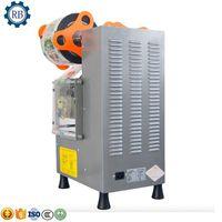 Food Processors Fast Speed Bubble Tea Cup Sealing Machine Semi Automatic Sealer Machine Plastic Sealer Paper For Bar Use