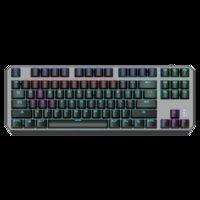 Tastiera meccanica 87-Key Anti-Ghosting Retroilluminazione Anti-Ghosting Gaming Invia tastiere di adesivi arabi ebraici spagnoli russi