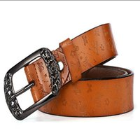 fashion with box leather belt belts for men woman women G big gold buckle belt top mens snake belt wholesale 698899