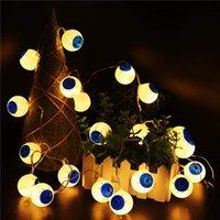 Luces de cadena de Halloween (40 leds calabazas anaranjadas, murciélagos morados, fantasmas blancos), luces de cadena operadas por batería para decoraciones de halloween interior al aire libre
