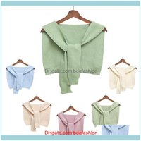 Wraps Hats, Scarves & Gloves Fashion Aessorieskids Small Baby Girl Cotton Solid Color Cape Clothes Children Autumn Winter Coat Shawl Scarf T