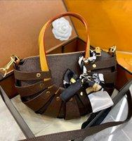 مصممون حقيبة يد إلكتروني الطباعة الأزياء المنسوجة حقائب crossbody حقيبة الكتف عالية الجودة سلة الخضار مطابقة الحرير وشاح