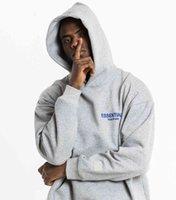 Sudaderas con capucha Miedo a Dios Complejo Crentshaw Co-nombrado TMC Essentials Hombres y mujeres Jumper Sudadera con capucha de gran tamaño Mujer 100% algodón