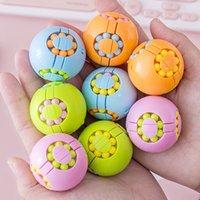 4 färger fidget leksaker magiska bön kub dekompression roterande trådlös magisk boll antistress pusselspel intelligens stress reliever barn barn leksak gåvor