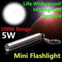 Mini Moonlight LED Flashlight Portable Keychain Flashlight Using AAA Battery Flashlight Spotlight Outdoor Light Pen Clip Light