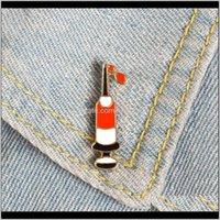 Pins, Drop Lieferung 2021 Spritze Email Pins Ding Blood Custom Broschen Tasche Kleidung Revers Brosche Pin Abzeichen Medical Jewelry Geschenk Hämatologie d