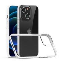 iPhone 13 12 11 XR XS Max Shockproof 유연한 TPU 커버 부드러운 뒷면에 대한 2.MM 맑은 무거운 갑옷 전화 케이스