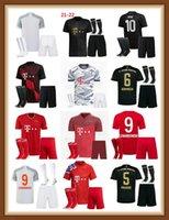 20 21 Bayern Lewandowski 축구 유니폼 맨 키트 Sane Coman Gnabry Alaba Davies Muller Munich 2022 멀리 아이 축구 셔츠