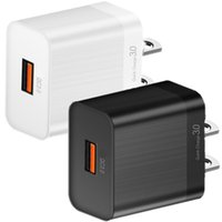 Quick Charging QC3.0 5V 3.5A 9V 2A EU US AC Home Travel Wall Charger For Samsung s11 s20 s10 iphone Huawei Andriod phone pc
