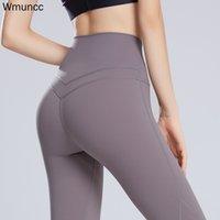 Wmuncc Yoga Pants Women High Waist Fitness Leggings Sports Gym Wear Clothing Squat Proof Workout Tummy Control Sexy Butt