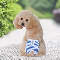 New Small Female Cute Pet Dog Panty Sanitary Pants Underwear Cute Hygienic Pant Short Cotton Pet Physiological Panties Briefs Promotion
