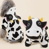 Cute Pet Dog Costume Warm Flannel Hoodies Outfit For Dog Winter Clothes Puppy Jacket Chihuahua Clothes for Small 21S21