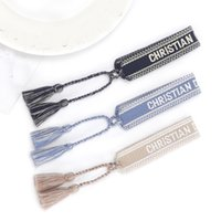 2021 Bracelet de charme d'amitié pour femmes hommes de broderie réglable Tassel Couple Vintage Couple tressé bijoux