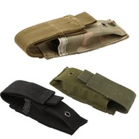 Military Molle Pouch Tactical Single Hunting Ammo Camo bag Pistol Magazine Knife Flashlight Sheath Airsoft