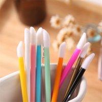 Щетки для макияжа одноразовые косметические губные губные губные блокноты палочки аппликатор составляют инструмент цветную щетку