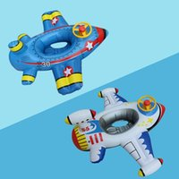 Life Vest & Buoy 1 Pc Infant Lifebuoy Inflatable Steering Wheel Seat Airplane Water Baby Swimming Ring Safety Floating Beach Pool Toys