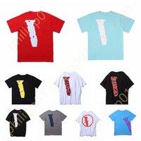 Diseñador para hombre grande grande reflexivo v amigos hombres mujeres camisetas casual humo ángel amantes sueltos lujo de alta calidad manga corta pa Burb tshirt
