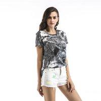 Women's T-Shirt GREYGEM Woman Summer T Shirt Short Sleeve Printing Fashion Street Style Tees Loose O Neck Ladies Top Clothing