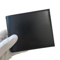 Portafoglio da uomo Porta carte da portafoglio Alla moda Cash Clips Sottile Pocket Pocket Borse Borse di alta qualità con scatole