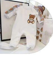 Meninos meninos macacos manga comprida infantil luxo roupas jumpsuit letra padrão impressão criança onesies roupas roupas