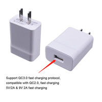 18W Quick Charge 3.0 Fast Mobile Phone Charger US EU Plug Wall USB Adapter for iP Samsung Xiaomi Huawei p9