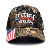2024 트럼프 수 놓은 야구 모자 모자 양식 남자 조정 가능한 스트랩 편지 태양 모자