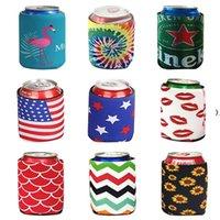 크리 에이 티브 다이빙 솔리드 컬러 컵 세트 코크 컵 전문 냉각 맥주 캔 술 마시는 병 주석 쿨러 슬리브 홀더 다채로운 HWD9329